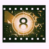 Постер, плакат: Фильм обратный отсчет на No 8
