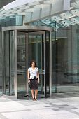 foto of front door  - Hostess at a hotel - JPG