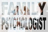 Family Problem. Conflict Between Mother And Daughter. Mother And Daughter At Psychologist. Mother Sc poster