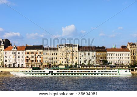 Budapest River Waterfront