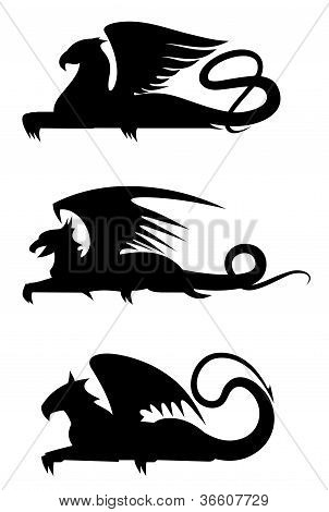 Griffin Silhouettes