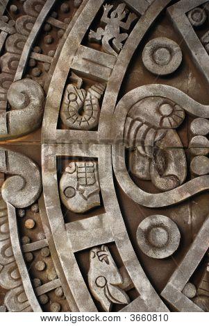 Antigo calendário asteca