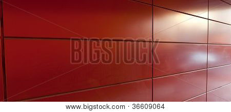 Red Plate Wall
