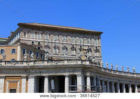 Pope s residense