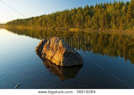Umba Fluss. Russland. Kola-Halbinsel.