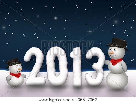 Cute Snowmen 2013