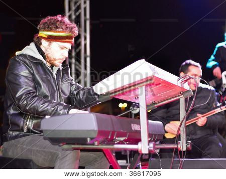 Keyboard player