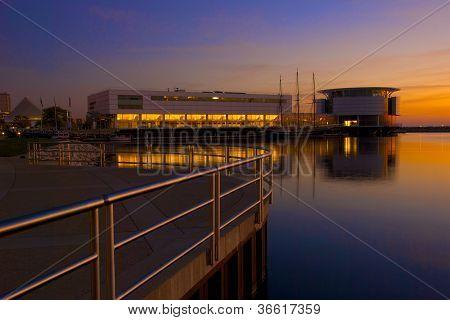Lakefront sunrise