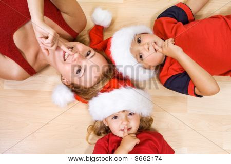 Shhh, Santa Is Coming....