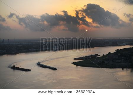 Sonnenaufgang in New orleans