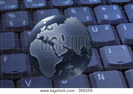 Globe Keyboard