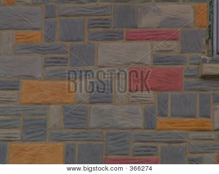 Colorful Stonework