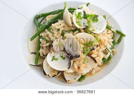 Clam & Samphire Risotto