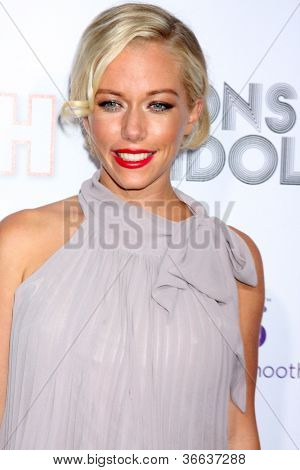 "LOS ANGELES - SEP 6:  Kendra Wilkinson arrives at the ""Icons and Idols"" Party  at Chateau Marmont on September 6, 2012 in Los Angeles, CA"