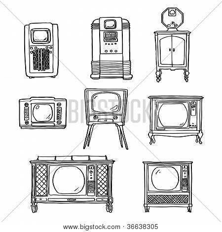 Jogo de tv vintage