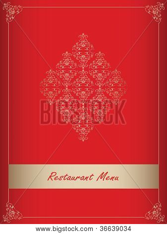 Special Red Restaurant Menu Design