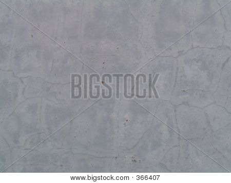 Blue Gray Stucco Wall