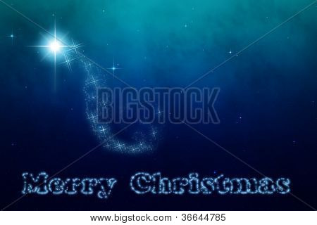 Christmas Sky Star of Bethlehem