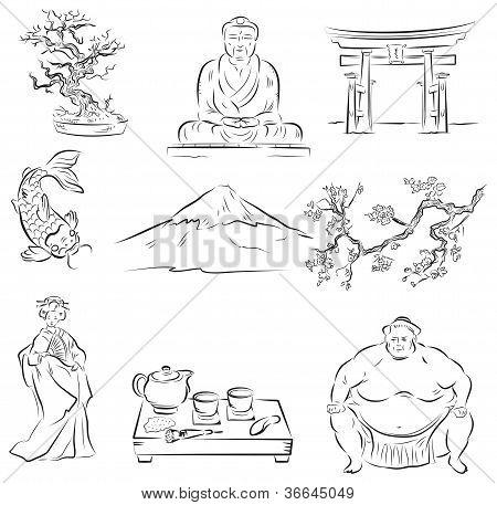 Símbolos da cultura japonesa