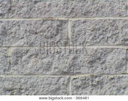 Textured White Brick