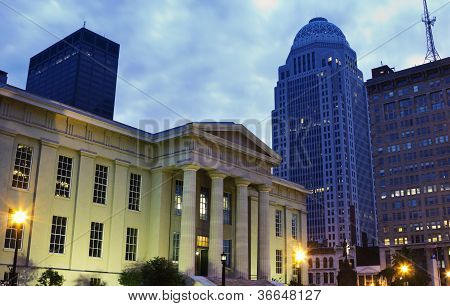 Jefferson County Building In Louisville, Kentucky