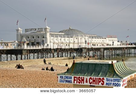 Fish  Chips At The Pier