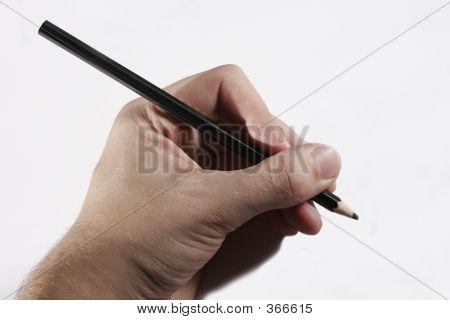 Hand schreiben