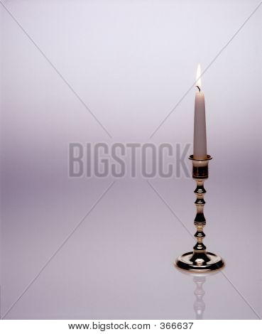 Candle On Seamless