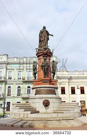 Catherine The Great Monument, Odessa, Ukraine