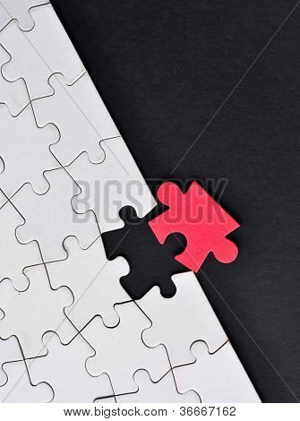 One odd piece of  puzzle