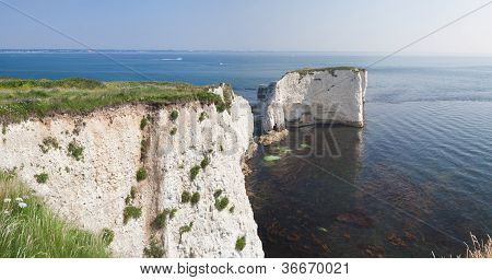Old Harry Rocks Panorama