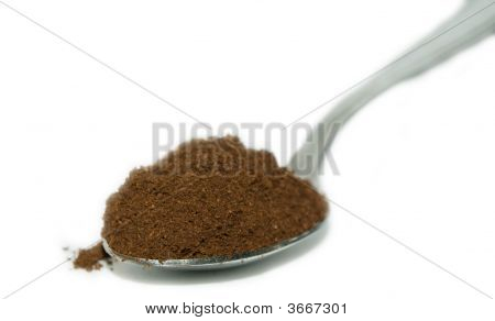 Spoon With Coffee
