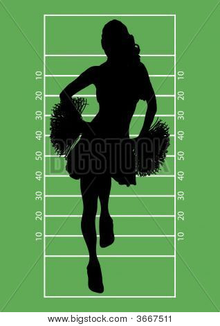 Football Cheerleader 1