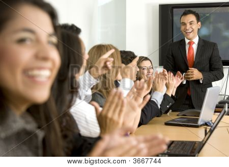 Business Meeting Success