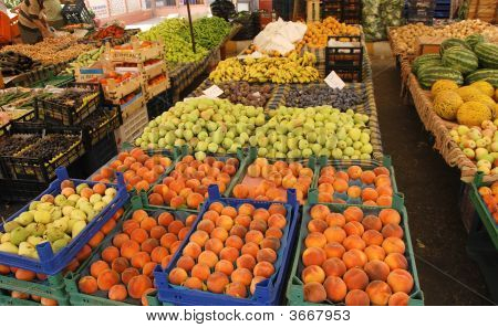 Fruit Market In Turkey