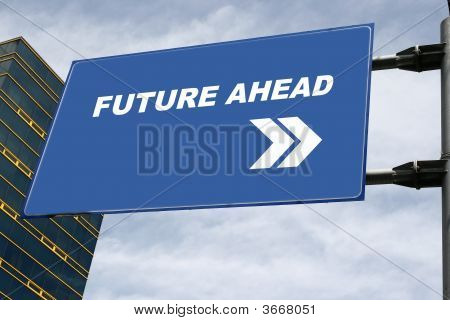Future Ahead Signboard Concept