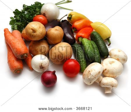 Fresh Vegetables Variety