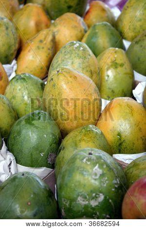 Lebensmittel - Papaya