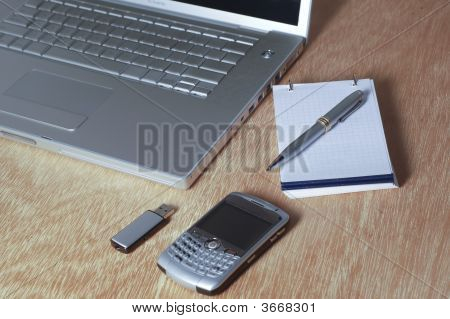 Laptop And Cellphone