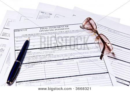 Finance  Form