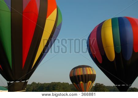 Hot Air Baloon Launch