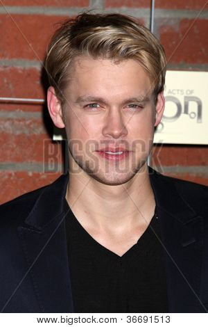 LOS ANGELES - SEP 10:  Chord Overstreet arrives at the FOX Eco-Casino Party 2012 at Bookbindery on September 10, 2012 in Culver City, CA