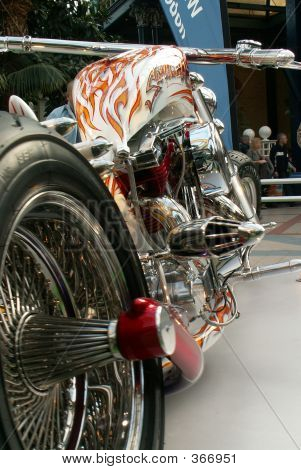 Beautiful V-twin Motorcycle