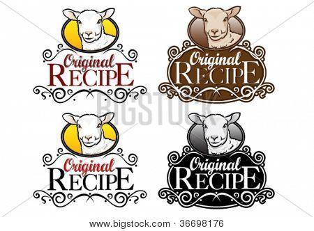 Original Recipe Seal Lamb Version