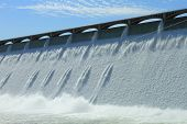 picture of hydroelectric  - The Grand Coulee Hydroelectric Dam in Washington U - JPG