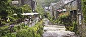 A Rainy Day In Ambleside, Cumbria, England