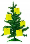 Christmas Fur-Tree With Notes