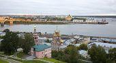 Постер, плакат: Осень Восход в Нижнем Новгороде