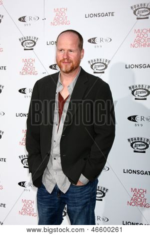 LOS ANGELES - JUN 5:  Joss Whedon arrives at the