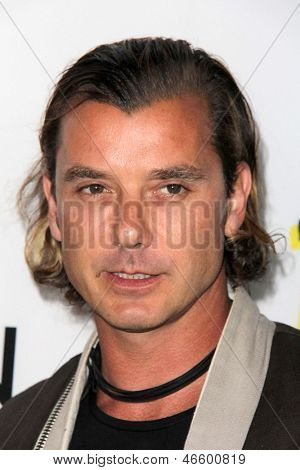 "LOS ANGELES - JUN 4:  Gavin Rossdale arrivesa at the ""The Bling Ring"" Los Angeles Premiere at the DGA Theater on June 4, 2013 in Los Angeles, CA"